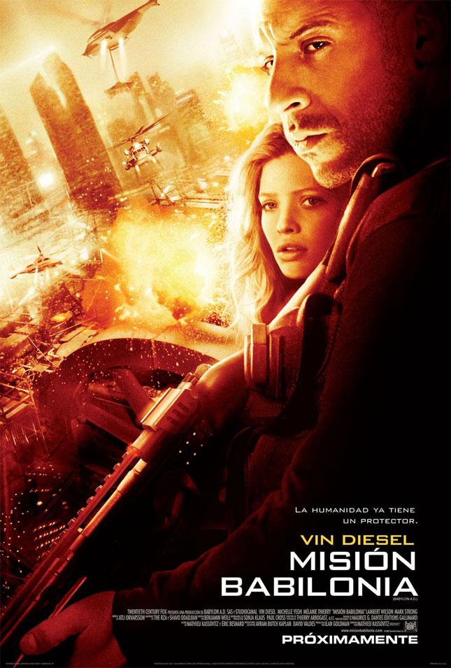 Babylon ad - Vin Diesel Film Posterleri