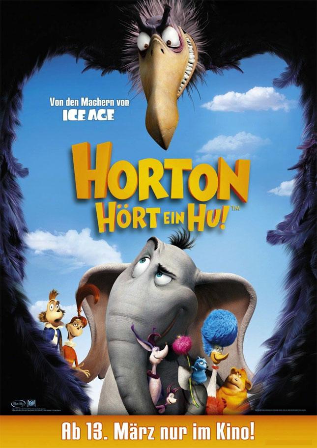 Dr Seuss Horton Hears A Who - 2008'de Vizyona girecek fiLmLer hakk�nda ki biLgiLer ve afi�Leri