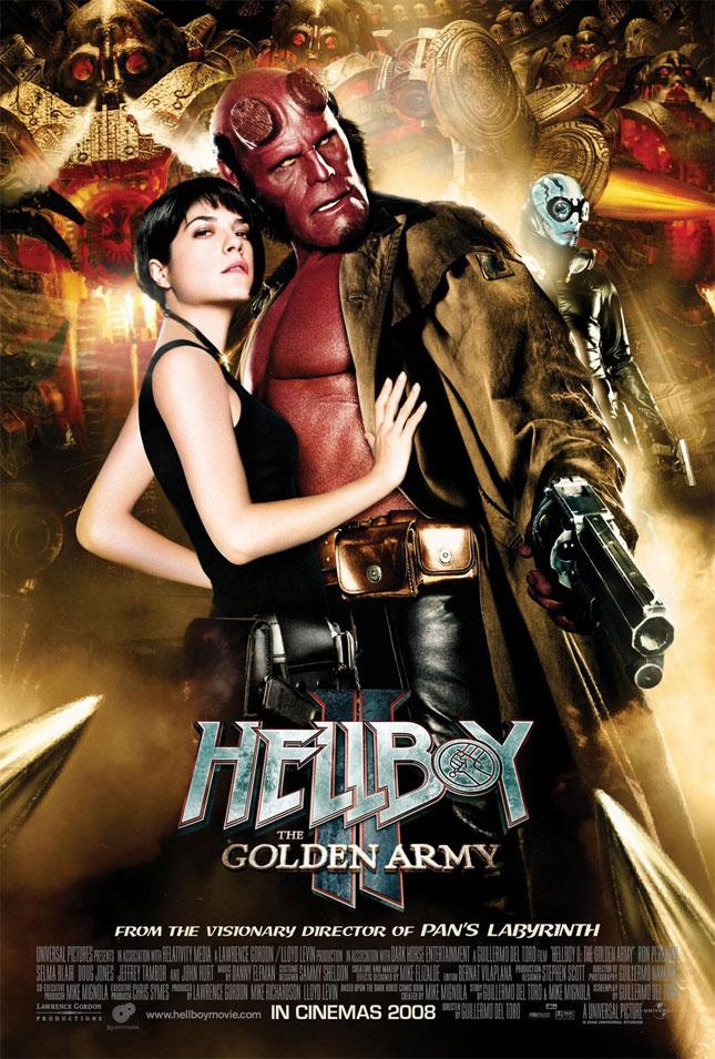 HELLBOY 2 THE GOLDEN ARMY - 2008'de Vizyona girecek fiLmLer hakk�nda ki biLgiLer ve afi�Leri