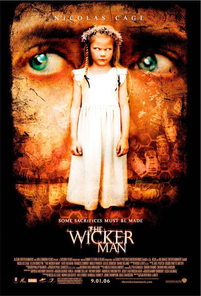 THE WICKER MAN o - Nicolas Cage Film Posterleri