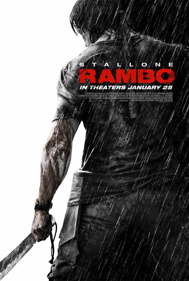 rambo4 - 2008'de Vizyona girecek fiLmLer hakk�nda ki biLgiLer ve afi�Leri