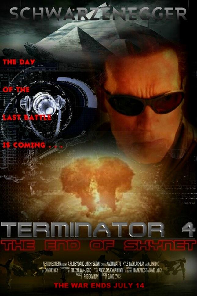 terminator4 - 2008'de Vizyona girecek fiLmLer hakk�nda ki biLgiLer ve afi�Leri